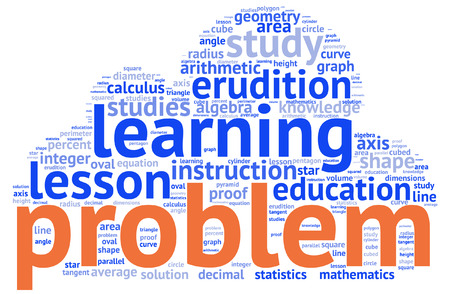 tangent: Shapes and vocabulary, math tag word cloud background