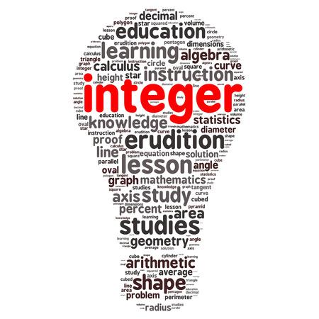 diameter: education tag word cloud background