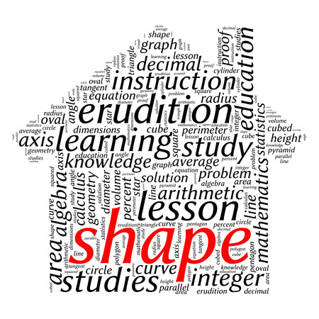 tangent: education tag word cloud background