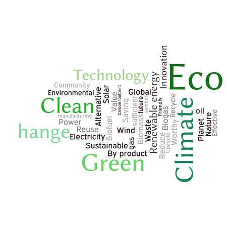 Ecology earth concept word collage environmental poster design environmental poster design template stock vector 45831836 maxwellsz