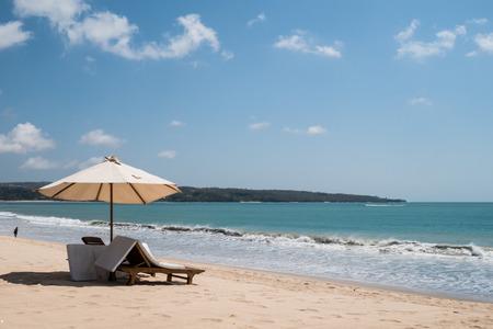 sand surfing: Beautiful surfing sand beach on sunny summer day