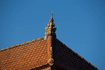 ulun: Historic carving at Pura Ulun Danu Bratan Water Temple Bali, Indonesia Stock Photo