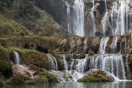 The Jiulong (nine dragon )waterfall yunnan, china.