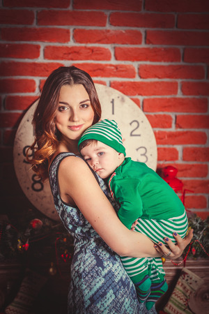 Mother with son photo