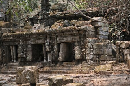 Ancient Buddhist Temple Ruins