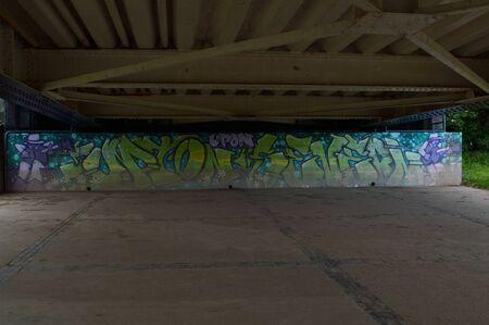Under Bridge Graffiti