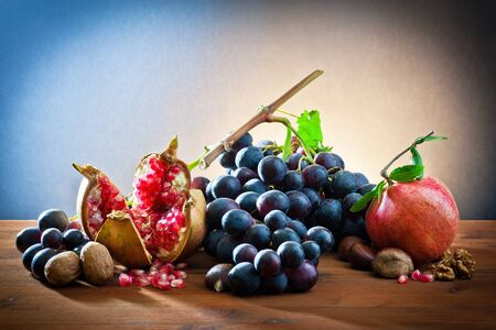 still life of autumnal foods  Stock Photo