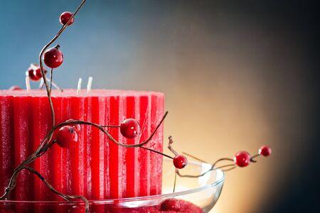 velas de navidad: velas de cera para la decoración y el ambiente de Navidad