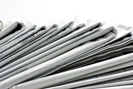 financial newspaper: newspaper for information Stock Photo