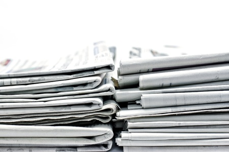 newspaper for information Stock Photo - 11386572