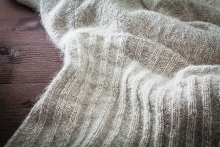 craft materials: textures of wool cloth