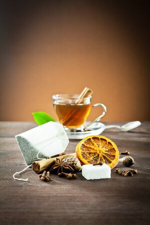 sugar cube: aromatic spices and decoration for tea