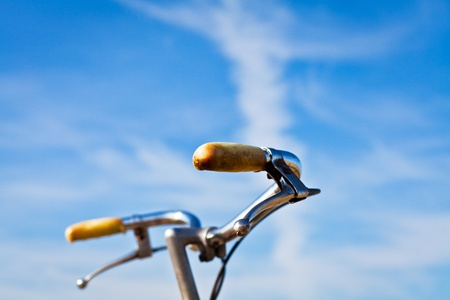 bikes and sky