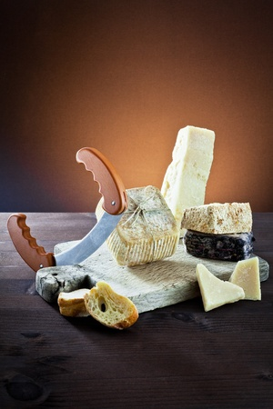 assortment of cheese photo