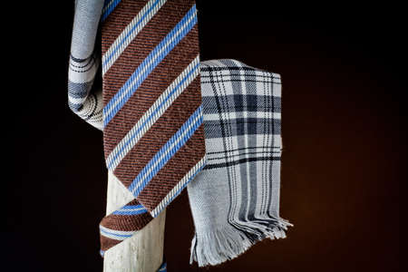 cane collars: cravat and scarf for man
