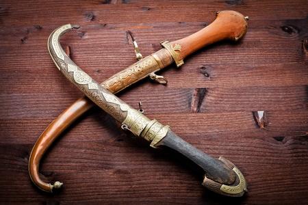 arabian ancient daggers Stock Photo - 12677553