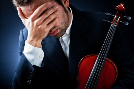 fiddlestick: depression of a young musician