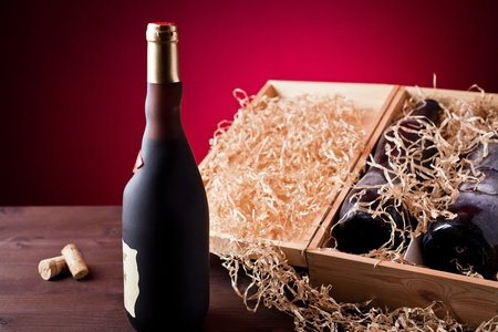 mustiness: old bottle of wine