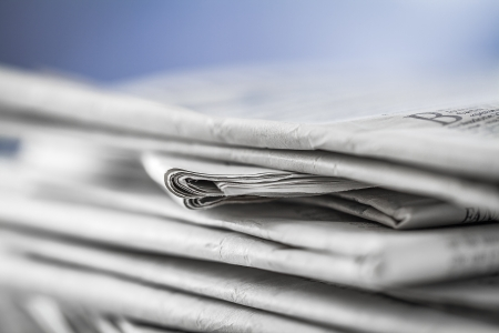 daily newspaper: newspaper,document for information