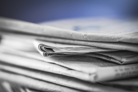 enquiry: newspaper,document for information