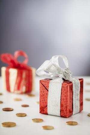 gift box Standard-Bild