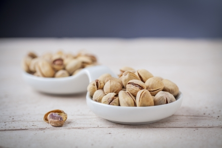 aperitive: handful of pistachios