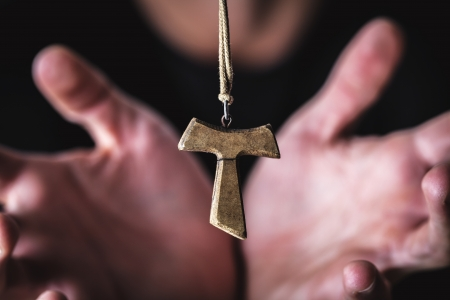 religion and crucified  Stock Photo