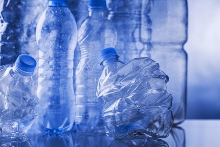 empty plastic bottles Stock Photo - 16048164