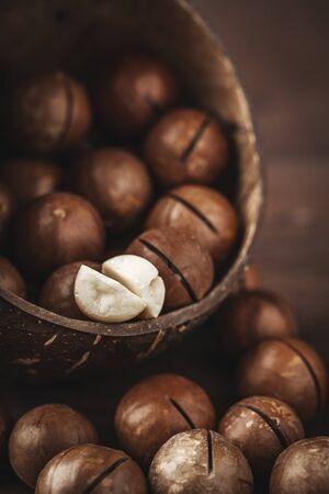 husks: macadamia nuts