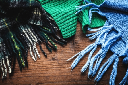 foulards: sciarpe per l'inverno