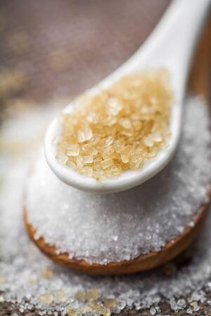 refined: refined white sugar and brown sugar demerara Mauritius