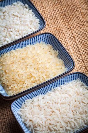 basmati rice: white, brow and basmati rice