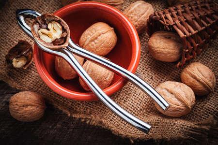 nutcracker: walnuts with nutcracker