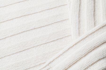 particular of a winter woolen sweatern macro