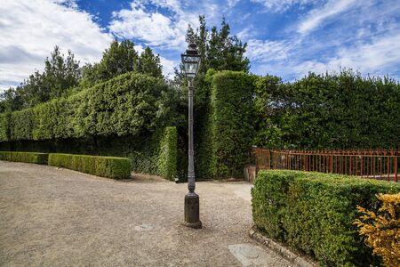 Boboli garden in florence, tuscany.