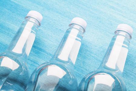 freshment: of plastic water bottle