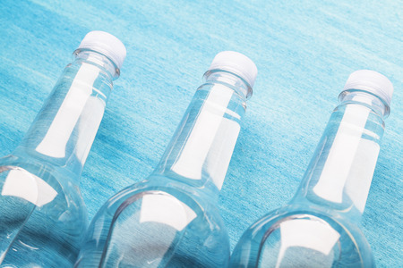 of plastic water bottle