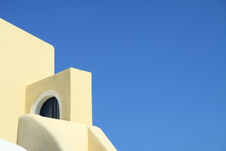 architecture of Santorini House photo
