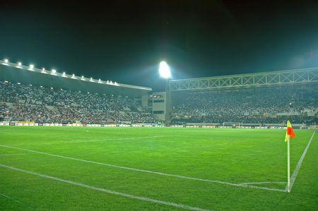 soccer stadium: Crowded Stadium at Guimaraes