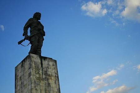 che guevara: Statue of Che Guevara in Cuba Stock Photo