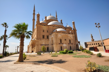 cairo: The Mosque of Muhammad Ali Pasha or Alabaster Mosque is a mosque situated in the Citadel of Cairo in Egypt and commissioned by Muhammad Ali Pasha between 1830 and 1848.