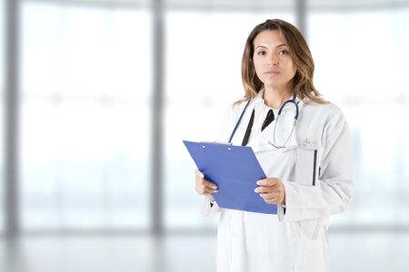 Female doctor at work in an hospital