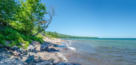 superior: Summer of lake superior Stock Photo