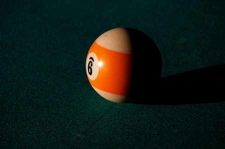 billard ball photo