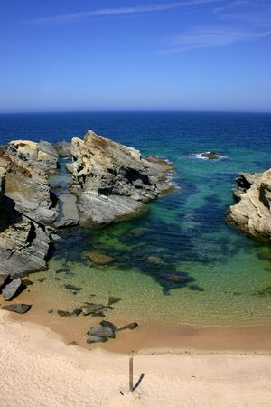 typical: typical  portuguese beach