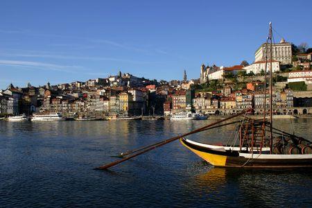 oporto: Oporto city, Portugal