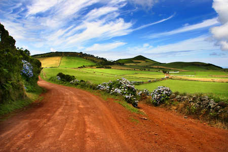 azores fields photo