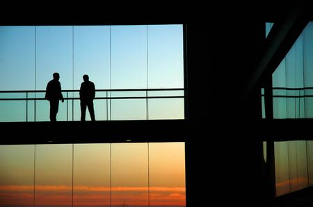 people silhouettes Stock Photo - 450671