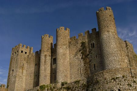 reconstructed: portuguese ancient castle