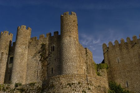 portuguese ancient castle Stock Photo - 451472